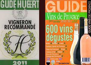 Vigneron recommandé - Vins de Provence 600 vins dégustés